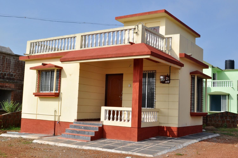Konkan village home design village house design in konkan for Village house design